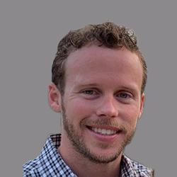 Travis Hall grey background